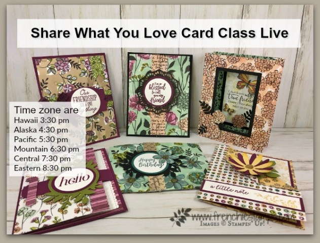 Share What You Love, Live Card Class