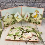 Lean how simple it is to make Wow W fold card. The Fable Friends stamp set is perfect for this fold card. The designer paper Floral Romance is a perfect match for this card. All product by Stampin