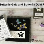 Tip for the Butterfly Gala, Butterfly Duet punch and the Stamparatus. Also tip for stamping spots. All product by Stampin