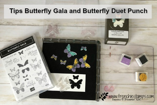 Tip with Butterfly Gala and Stamparatus