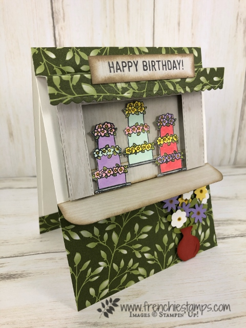 Cake Stand 3-D Card