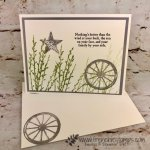 Simple card using Country Road stamp set. All product by Stampin