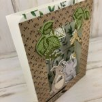 Animal Outing Shadow box. Animal Outing stamp set and Animal Friends die. Get the bundle at 10% before month end. All product is by Stampin
