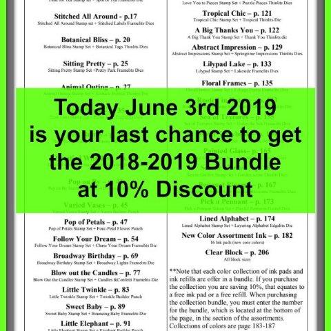 Last Chance for 10% Discount Bundles