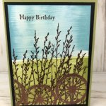 Emboss Faux Illusion. stamp set Country Road. All product by Stampin