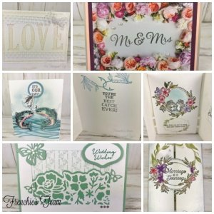 Wedding cards with Frenchie's Team