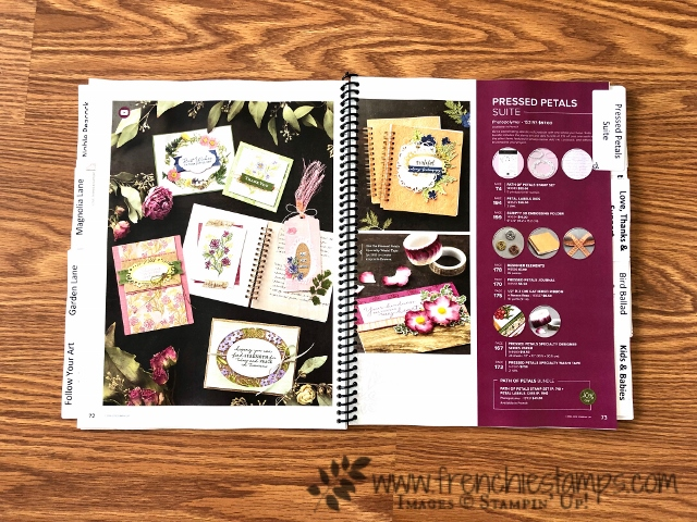 Free Printable Labels Tab for 2019-2020 Stampin'Up! Catalog at frenchiestamps.com