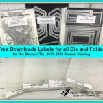 Get Free download for labels for all Stampin