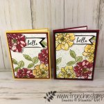 How to make a pop up flower corner using the To A Wild Rose stamp set and Wild Rose die. All products by Stampin