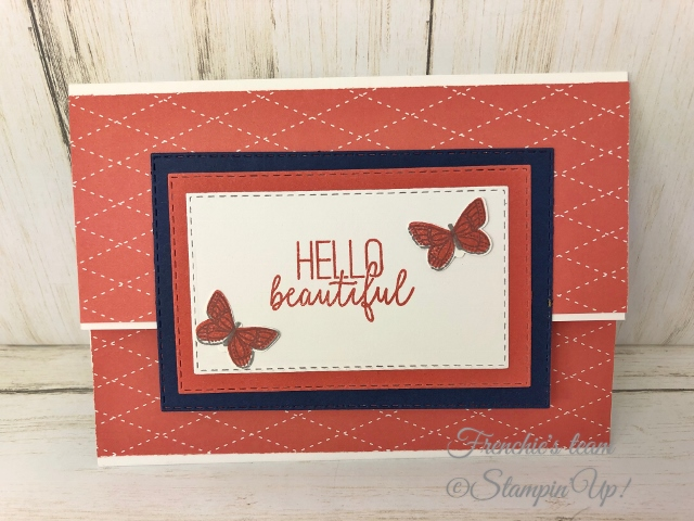 Cards with the Stampin'Up! In-Color 2019-2021  Made by Frenchiestamps.com  Terracotta Tile