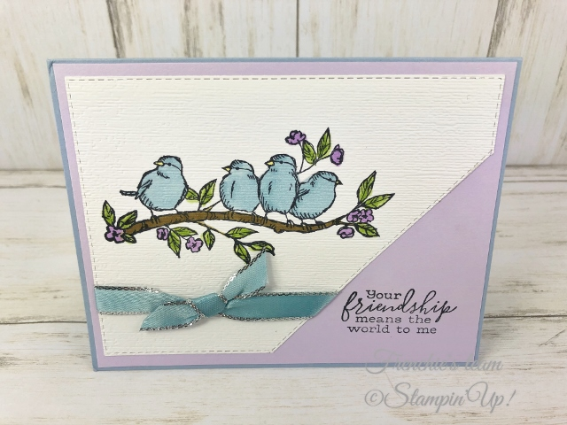 Cards with the Stampin'Up! In-Color 2019-2021  Made by Frenchiestamps.com  Purple Posy
