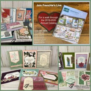 Walk through live the 2019-2020 Stampin'Up! catalog