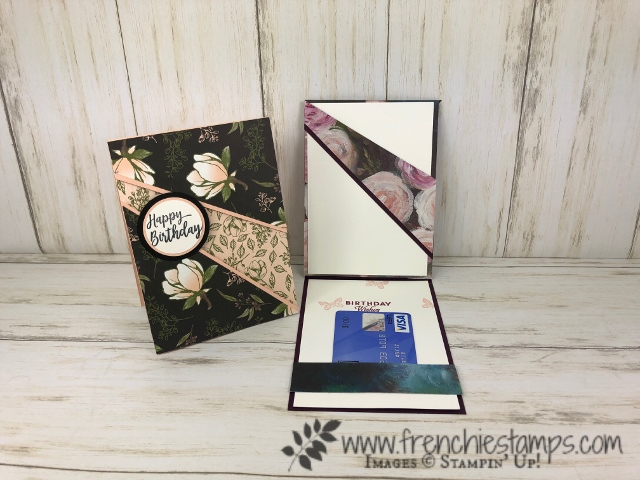 Recessed Panel Card With Gift Card Holder