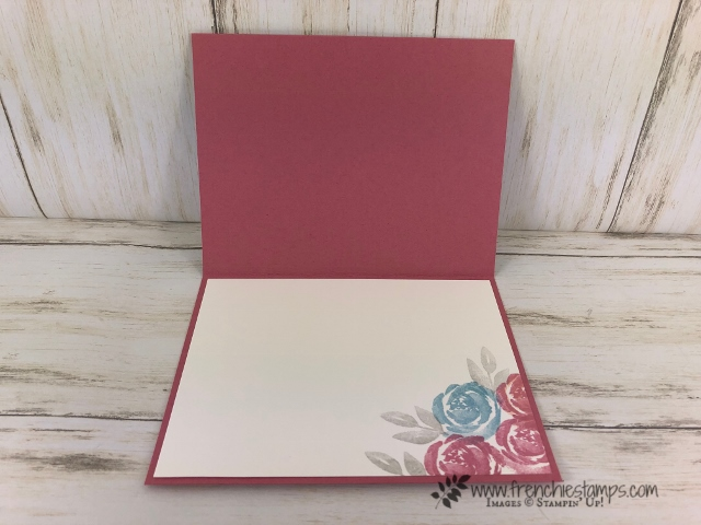 Color Coach with Stampin'Up! 2019-2021 In Color. Rococo Rose combination. Beautiful Friendship for the stamp set. All product by Stampin'Up! available at frenchiestamps.com