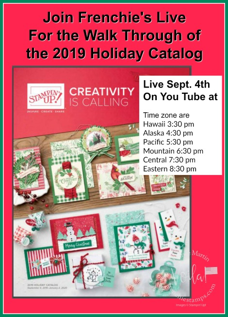 Walk Through of the Holiday Catalog Live