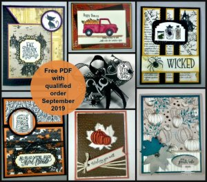 Frenchie's Customer Appreciation. Free Download Fall and Halloween projects.