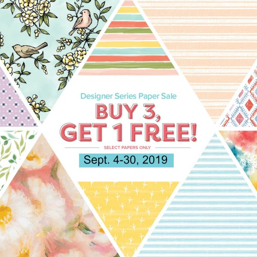Designer paper sale, Buy 3 Get 1 Free - Frenchie Stamps