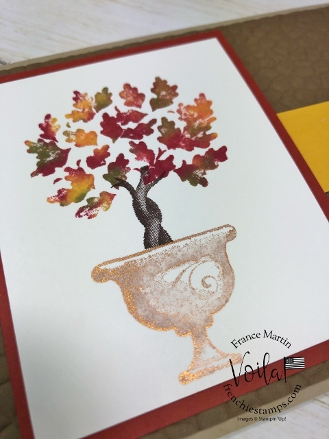Beauty and Joy for fall. Technique is the baby wipe.