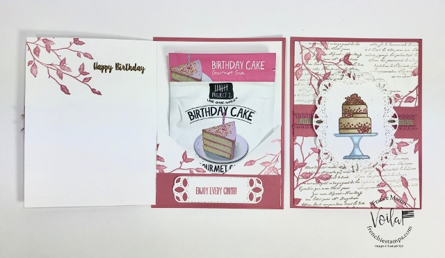 Birthday Pouch Card and a special gift for you