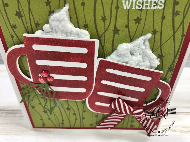 Cup of Christmas Reversible Stamps