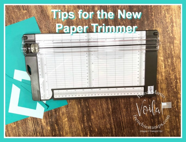 Tip for the New Paper Trimmer