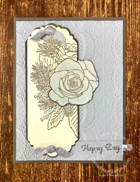 Delightful Tag Topper Punch is perfect for cards and look like a die if punch out at both end.