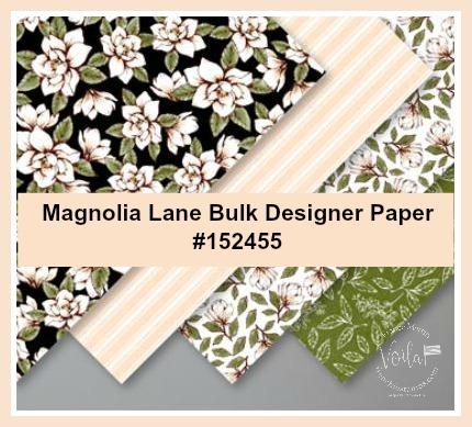 Magnolia Lane Designer paper by Stampin'Up!