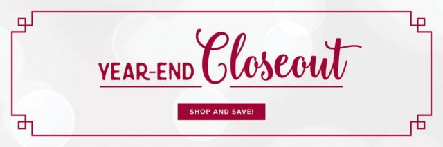Stampin'Up! Year-End Closeout Sale.