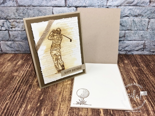 Vintage Clubhouse Masculine Card