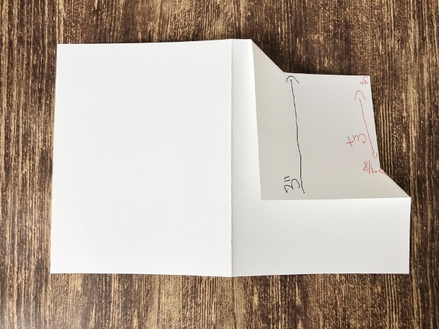 Corner Fold For Gift Card with Layers