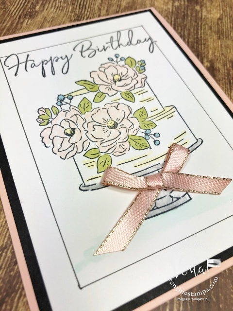 Happy Birthday To You Faux Frame Card