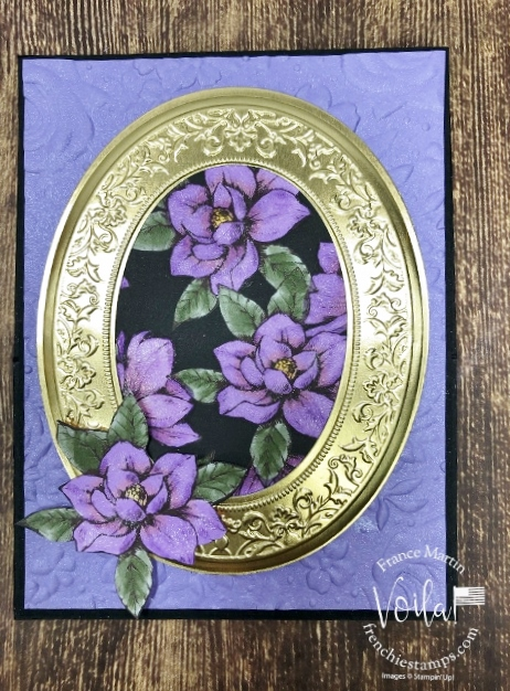 Easel Card with the Heirloom Frames