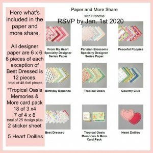 Designer Paper Share and More