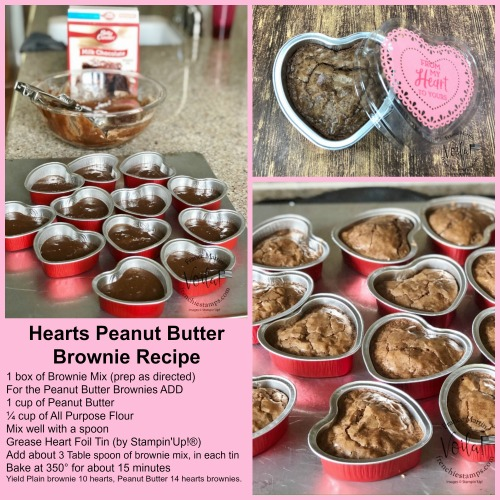 Heart Shape Brownies