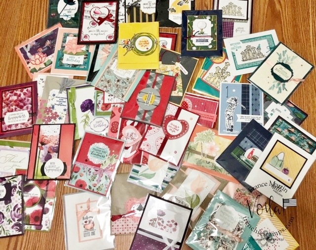 Card showcase of the mini spring 2020 catalog and sale a bration.