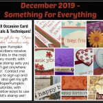 Paper Pumpkin Something for Everything December 2019