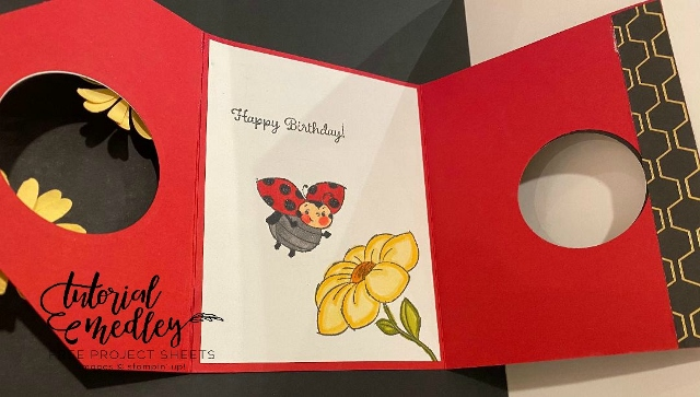 Little Ladybug stamp set. You can qualified to receive this stamp set for free