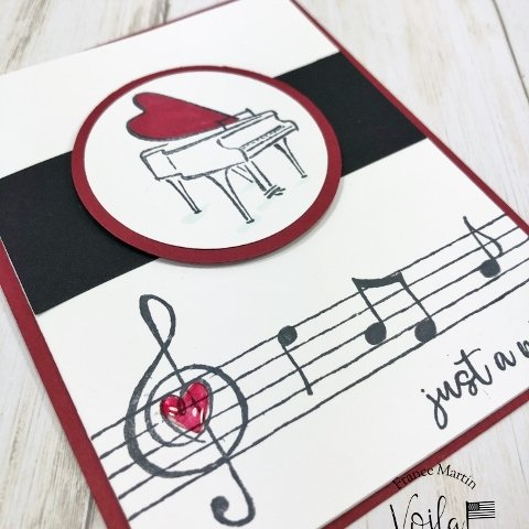 Music from the Heart, tips to stamp many music notes
