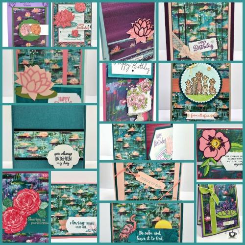 Lily Impression Designer Paper Showcase