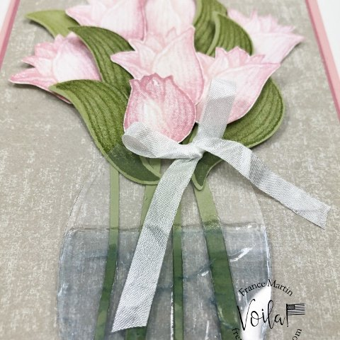 How to make a flower vase with window sheet