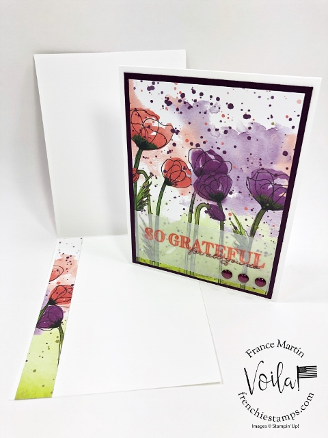 Best tip to adhere vellum cardstock to your projects