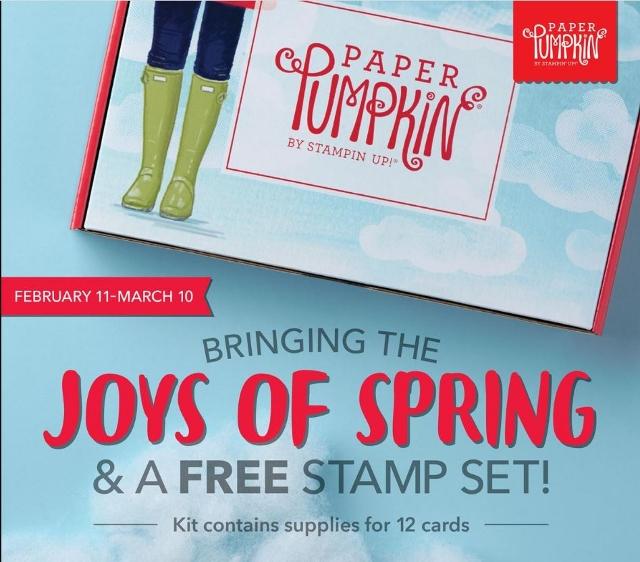 Free Stamp Set with Paper Pumpkin