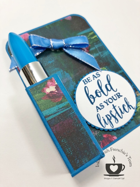 Lipstick pen holder. Great little gift for your BFF
