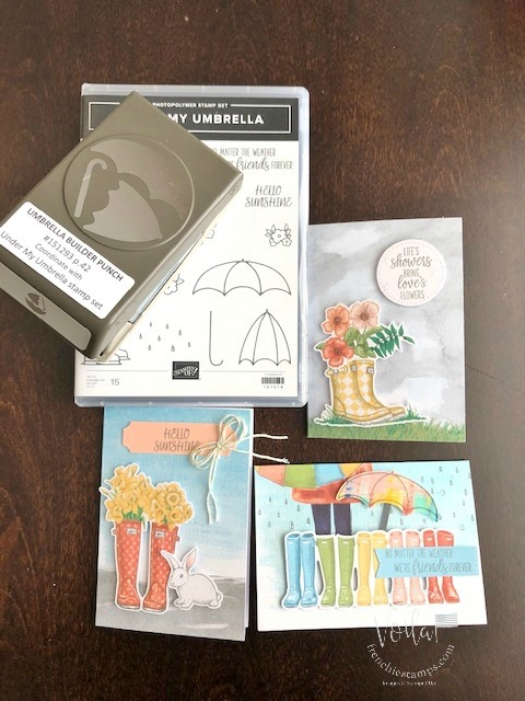 No Matter the Weather Stampin'Up! Paper pumpkin extra inspiration.