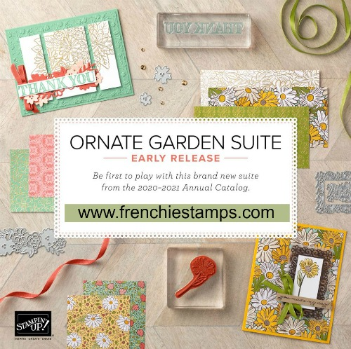 Ornate Garden Suite new release by Stampin'Up!