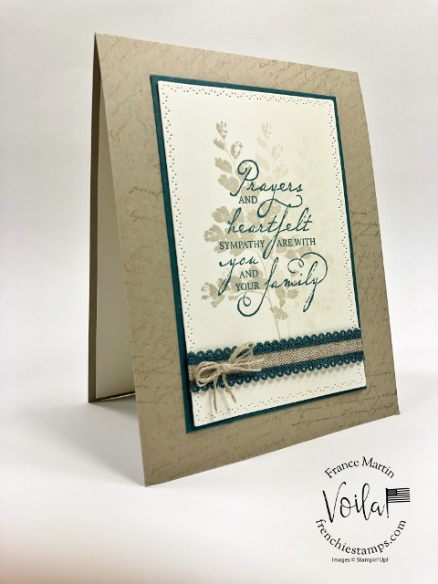 Positive Thoughts for Sympathy cards