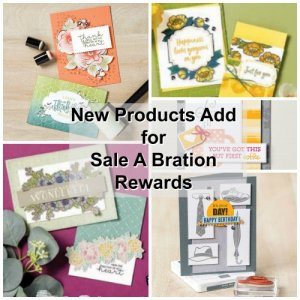 New products added in the Sale A Bration
