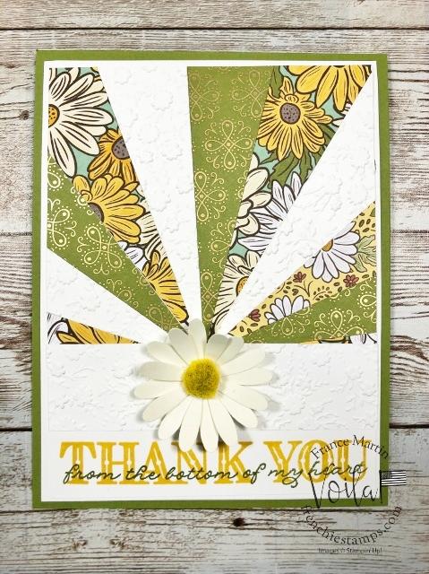 Sunburst with the Ornate Garden Designer Paper