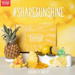 Share Sunshine with Paper Pumpkin