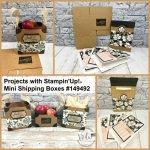 Mini Shipping Box by Stampin